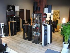 Hifi garso aparatūra - kolonėlės, stiprintuvai.