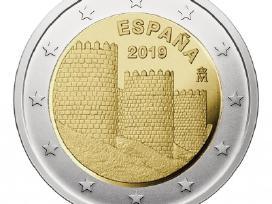 "Ispanija 2 eurai 2019 ""Avila"""