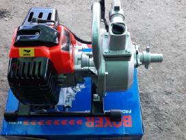 Benzininis vandens siurblys motopompa - nuotraukos Nr. 2