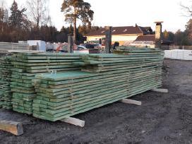 Statybinė-impregnuota mediena 6-7-8,5-9 metru.