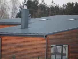 Naujai irengtas stogas