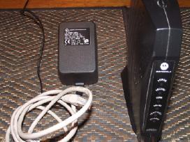 """"""" Motorola"""" išorinis interneto modemas"""