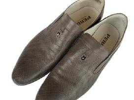 Dėvėti vyriški odiniai batai Pero 45 dydis