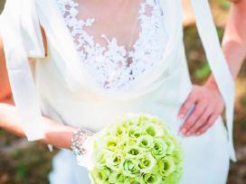 Vamp mados namu vestuvine suknele