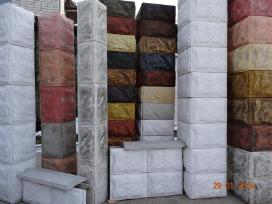 Blokeliai tvoroms, blokeliu kaina()