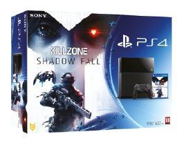 PS4 konsole+ killzone shadow fall