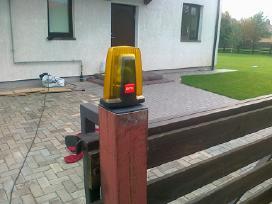 Kiemo ir garažo vartų automatika,remonto darbai
