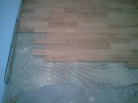 Ąžuolo grindys.