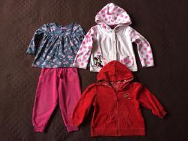 Palaidinė, kelnės, džemperiai, suknelės 86-92cm