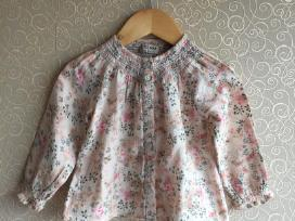 Next marškinėliai su gėlytėm 1,5-2m 92cm
