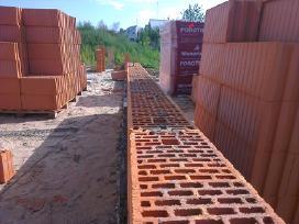 Mūro darbai. Betonuotojai - nuotraukos Nr. 3