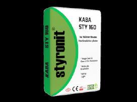 Styronit – Sty 160 Kaba termoizoliacinis tinkas.