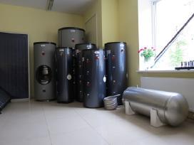 Tūrinis vandens šildytuvas. Boileris