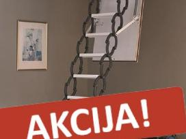 Austriški palėpės laiptai! Nuolaidos!