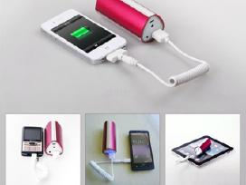 Prekyba išorinėmis baterijomis (powerbank)