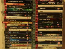 PS3 žaidimai, originalūs, geromis kainomis