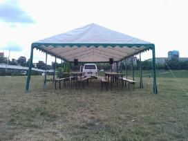 Paviljonai palapinės scena stalai suolai baldai - nuotraukos Nr. 7