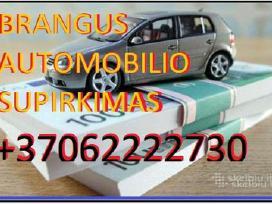 Brangus Ir Skubus Automobiliu Supirkimas Lietuvoje