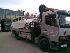 Limuzino transportavimas