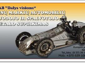 Automobilių supirkimas, Utilizavimo Pažymos