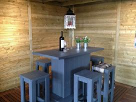 Lauko baldai namams/ kavinėms / turizmo sodyboms