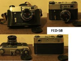 Foto technika, dėklai, priedai