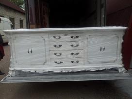 Chippendale komoda ( atrestauruota ) - nuotraukos Nr. 4