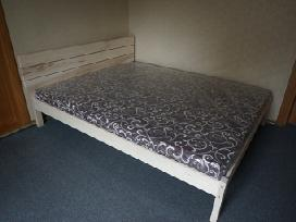 Ąžuolo medienos dvigulės lovos - nuotraukos Nr. 7