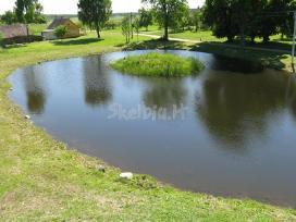 Tvenkinių kasimas,valymas,aplinkos tvarkymo darbai