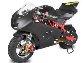 Nauji mini bike / mini motociklai Kmoto - nuotraukos Nr. 4
