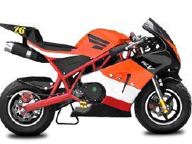 Nauji mini bike / mini motociklai Kmoto - nuotraukos Nr. 6