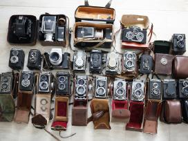 Ivairus, juostiniai fotoaparatai,objektyvai ir kt.