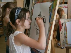 Vaikų dailės pamokos šalia Akademijos