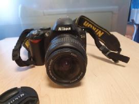 Veidrodinis fotoaparatas Nikon D40