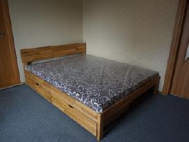 Ąžuolo medienos dvigulės lovos - nuotraukos Nr. 3