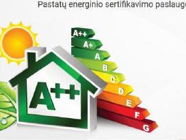 Pastatų energetinis/energinis sertifikavimas
