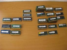 RAM nesiojamam pc (laptop) 1-2-4-8-16gb