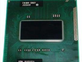 Nešiojamų (notebook) cpu intel core i7, i5, i3