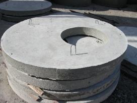 Šulinio žiedai, pamatų blokai, pervežimas