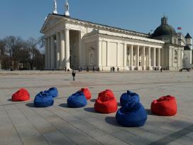 Sėdmaišių, pufų, staliukų nuoma visoje Lietuvoje