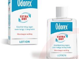 """Nuo gausaus prakaitavimo """"Odorex"""""""