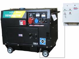 Dyzeliniai generatoriai - nuotraukos Nr. 6