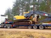Negabaritinių krovinių pervežimas 48 tonos 20m - nuotraukos Nr. 3