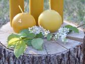 Bičių vaško žvakės - nuotraukos Nr. 3