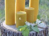 Bičių vaško žvakės - nuotraukos Nr. 4