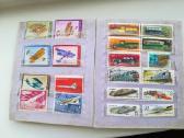 Pilnas albumas pašto ženklų( 260vnt sovietiniu) - nuotraukos Nr. 2