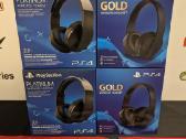 Naujos Playstation Gold / Platinum ausinės
