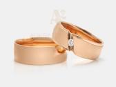 Vestuviniai žiedai, Sužadėtuvių žiedai, Juvelyras - nuotraukos Nr. 7