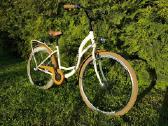 Naujas miesto dviratis Azimut Nexus-3 rudas