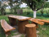 Ąžuolinių lauko baldų komplektas - nuotraukos Nr. 2